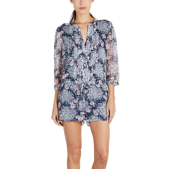 Cheap Low Price Cheapest Price Cheap Price Joie Woman Printed Silk Top Brick Size XS Joie Eastbay Z0wPz